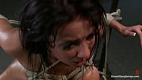 anissa kate tied up and fucked rough and hard Image