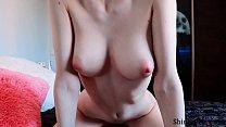 Teen Natural Tits Cowgirl on Big Dick - Cum on Big Tits - Shinaryen - 69VClub.Com