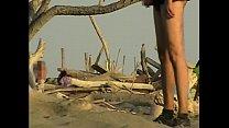 Girlfriend Sucks My Cock On The Public Beach In