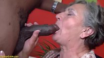 hairy 80 years old granny first interracial