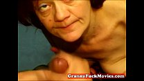 Amateur granny slut does POV