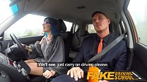 Fake Driving School Anal sex and a facial finish ensures driving test pass ◦ cum blowjob thumbnail