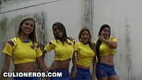 CULIONEROS - Sexy Latina Soccer Players with Big Asses (bac8732) video