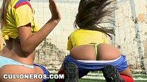CULIONEROS - Sexy Latina Soccer Players with Big Asses (bac8732) thumbnail