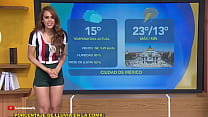 Weather girl ass