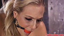 Hd sexi video ‣ busty blonde bdsm sub spanked and toyed