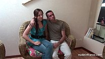 18333 Young french libertine anal pounded by her boyfriend for an amateur casting preview
