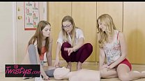 Mom Knows Best - (Alexa Grace, Britney Amber) - Cute Perky Raunchy CPR - Twistys's Thumb