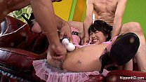7857 Japanese babe gets filled preview