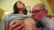 Teenager fucks old man Preview