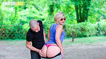AMATEUR EURO -  BIG ASS French Newbie Celia Get...