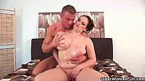 Willing moms love cum on their tits and face pornhub video
