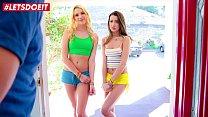 LETSDOEIT   College Girls Kenna James & Lily Ad