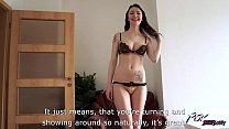 Belle Claire takes huge creampie from naughty s...