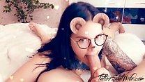 Girl with Instagram Mask Sensual Sucking Cock Best Friends صورة