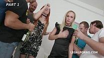 Monika Wild & Krystal Kaytlin have an orgy with Balls Deep Anal and DAP pornhub video