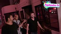 James Deen is comfortable being pantless yet still mum on Lindsay Lohan Story in LA - YouTube image