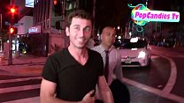 James Deen is comfortable being pantless yet still mum on Lindsay Lohan Story in LA - YouTube