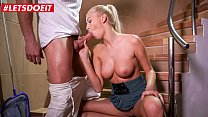 LETSDOEIT - #Karol Lilien - Czech MILF Babe Blows And Fucks With Spa Manager For A Discount