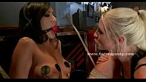 Beautifull brune lesbian tied in ropes - Download mp4 XXX porn videos
