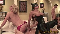 Orgy at Batman's with Madelyn Marie, Dani Jense...