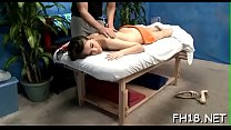 Pretty Hot Gets In Nature's Garb For Her Sexual Massage