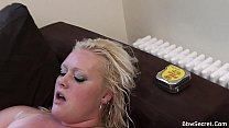 Husband cheating with sexy blonde plumper Thumbnail
