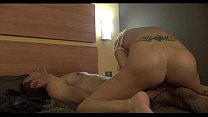 Awesome Blond having the orgy of her life