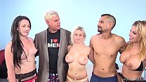 Lucky guy fucks three pornstars! - Rachel Roxxx...
