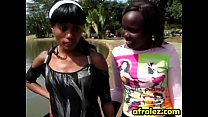 African lesbians pleasing each other