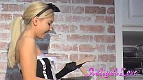 Aaliyah Love French Maid