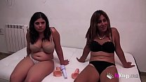 Shy and slut: Annbeth gives Maria masturbation ...