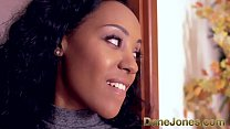 DaneJones Creampie for cute young black girl