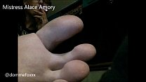Mistress Alace Amory Foot and fetish Compilation