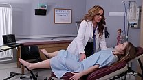 HUSTLER Lesbian MILF Doctors With Richelle Ryan and Paige Owens