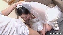 Sweet Japanese woman Emi Koizumi swallows a hairy hard dick video