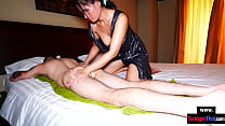 Amateur MILF Gives A Thai Massage With Happy En