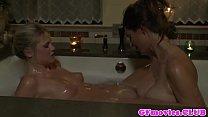 Sizzling Sapphos Vagina Rubbed In Bath.jpg