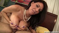 Busty Stepmom In Her Sexy Black Stockings Preview