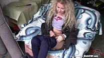 9738 Bitch STOP - Curly blonde teen Veronika fucked in garage preview