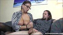 Screenshot Busty Milf Enjoys Jerking A Dick
