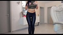 Bengladeshi sex - Zen moment with sexy brunette in latex thumbnail