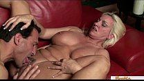 Mature blonde MILF has a filthy mind preview image