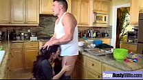 Naughty Horny Wife (ariella ferrera) With Big Tits In Hardcore Bang video-04