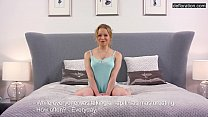 6447 Young gymnast proves her virginity in front of the camera! preview