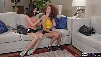 Two horny petite lesbians passion massage and f...'s Thumb
