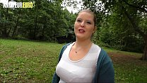 AMATEUR EURO - Picked Up German BBW Goes Hardco... thumb