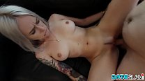 Busty Russian blonde sex-freak hooking up with ...