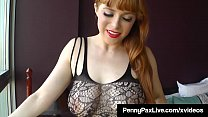 Dildo, Buttplug & Bodystockings! Penny Pax Fills Her Holes! thumbnail