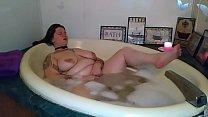 BBW Bubble-bath Masturbation - Zamodels.com